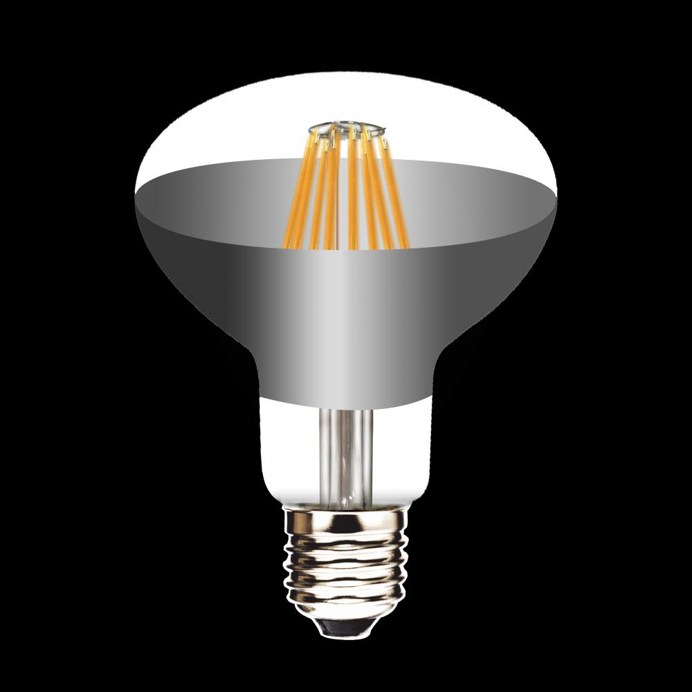 LED Filament Lamp R80 8W