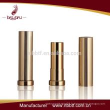 Conteneur à lèvres vide en laiton Gold Lipsick Container
