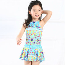 Little Girls Ruffeled Fashion Swimwear