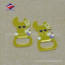 Runde Schlüsselring Metall Material schlüsselanhänger benutzerdefinierte Flaschenöffner