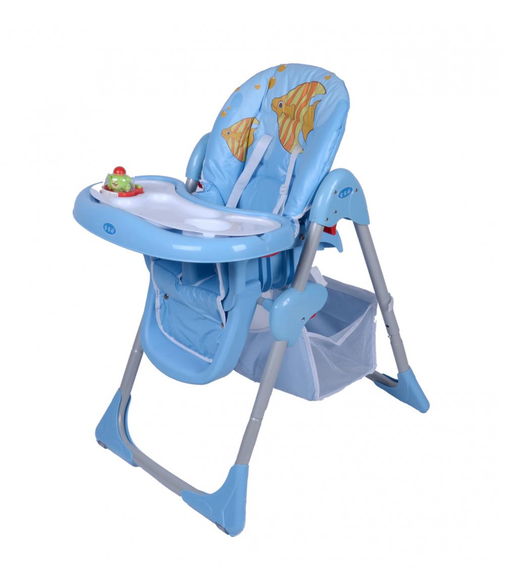 Chair Type and Plastic Material Easy Folding Baby High Chair