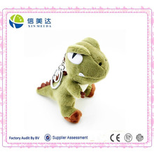 Lindo Mini Soft Dinosaur Peluche Llavero