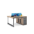 high quality new design 2 person workstation furniture