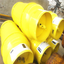 Welded steel ammonia gas cylinder tonner
