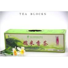 125g de arroz glutinoso chinesa perfumado blocos de chá
