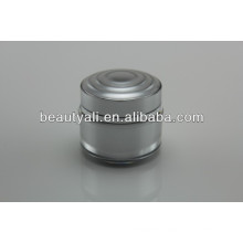 15ml 30ml 50ml Double Wall Plastic Acrylic Cosmetic Cream Jar