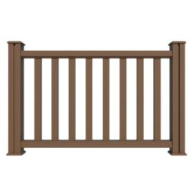 New generation outdoor	railing wood