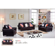 Америка диван, сочетание диван, 1 + 2 + 3 кожаный диван (8001)