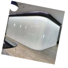 Switchable electric smart film magic glass/ PDLC self adhesive smart glass film pldc