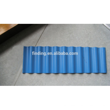 corrugated metal roofing tile for factory roof/cheap factory metal roofing Philippines