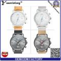 Promotion YXL-069 hommes nouveau maillage acier montre mécanique de luxe prénatale montre hommes montre étanche d'affaires