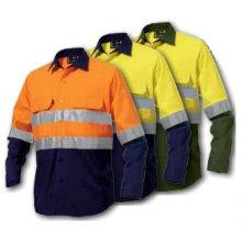 100% Baumwolle Hallo Sichtbarkeit Arbeitskleidung