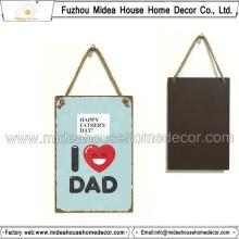 Blechschild Home Made Wandbehänge für Dad Gife
