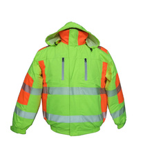Safety Workwear Coat/safety With Cotton Inner