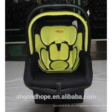 Tragbarer Baby-Autositz mit E-Zeichen