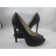 Nouveau Design Femmes Peep Toe Sandales (HCY03-150)