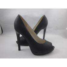 Sandálias novas do peep toe das mulheres do projeto (HCY03-150)