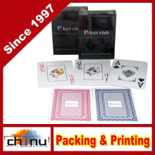 Poker Club Big Index Casino Waterproof PVC Plastic Playing Cards (431014)