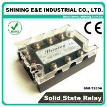 SSR-T25DA SSR Montagem do dissipador de calor Relé geral do estado sólido 24VDC