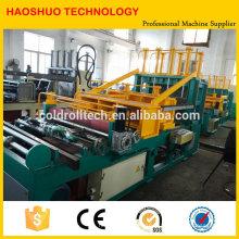 Machine ondulée de fabrication d'aileron pour la fabrication de réservoir ondulée de transformateur