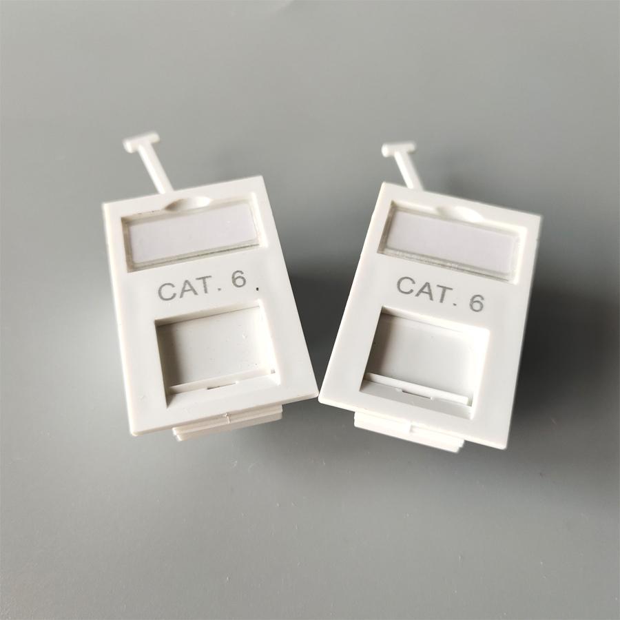 CAT6 UK Type face plate
