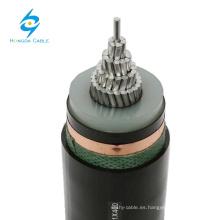 12 / 24kV cable monobloque XLPE con conductor de aluminio de 630 mm de núcleo