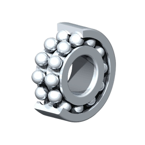 Double Row Deep Groove Ball Bearings 63300 Series