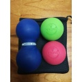 Rehab Therapy peanut massage ball