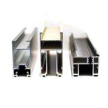 OEM анодированная поверхность алюминиевых дверных профилей 6063 T5