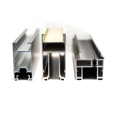 Perfiles de puerta de aluminio de superficie anodizada OEM 6063 T5