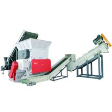 Plastic Waste Recycling Machinery for PP PE Film Washing