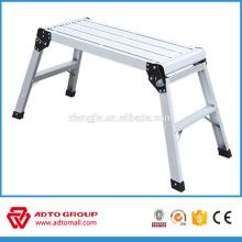 Nueva plataforma de trabajo diseñada, plataforma de trabajo de aluminio, plataforma de trabajo de lavado de coches