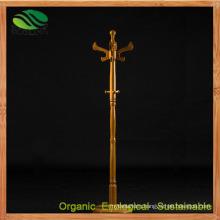 Bamboo Coat Rack Hanger Locker Hat Rack (EB-B4109)
