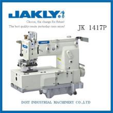 JK1417P Simples de usar longa vida INDUSTRIAL OVERLOCK SEWING MACHINE