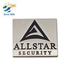 Vente directe en métal gros badge personnalisé