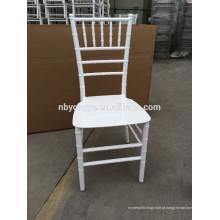 Cadeira branca do chiavari da resina de Monobloc no partido