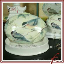 Caja de joyería de cerámica