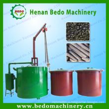 Horno de carbón sin humo directo de la cáscara del coco del flujo de gas de la fábrica de China para la venta