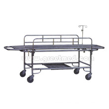 Stainless Steel Stretcher Trolley with Four Truckles