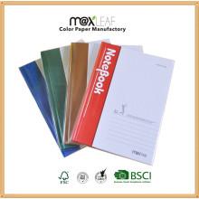 A5 - 64 feuilles Plaquette papier à lettres rigide bloc-notes bloc-notes pour promotion