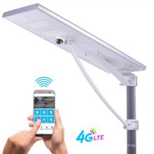 Iluminação pública solar integrada de 180 / 200W com monitoramento