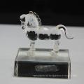 Estatuetas de cavalo de cristal de venda quente