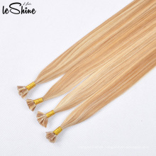 Flat Tip Hair Extension 100% Remy Human