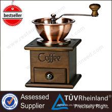 2017 Shinelong venta caliente manual antiguo molinillo de café mano