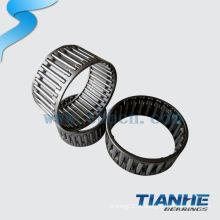 Rolo de rolo de agulha radial de gaiola de nylon selado usado maquinaria têxtil usada na europa
