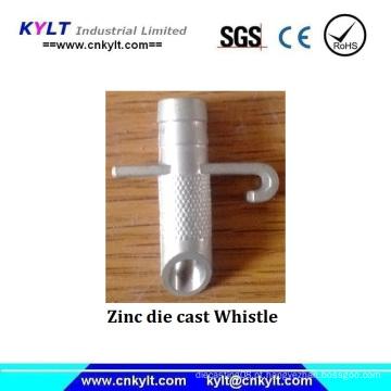 Silbido de metal de zinco