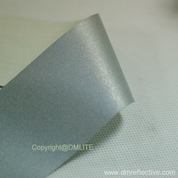 Washing Enhanced Silver Reflective Fabric for Garment