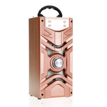 2.1 EDR 1200mAh karaoke system dancing retro radio, portable dvd active car trolley speaker