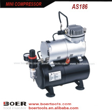 Миниый компрессор воздуха с 3L бака