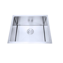 SUS304 stainless steel square handmade kitchen sink